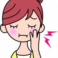 歯痛のイラスト