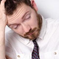 眠気の画像