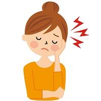 頭痛歯痛のイラスト
