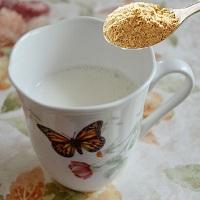 きなこ牛乳の画像