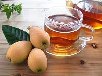 びわ茶の画像