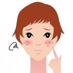 頬にできる吹き出物の原因!ニキビとの違いや痛みの対策は?