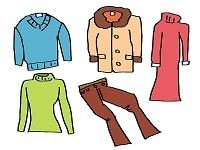 冬服のイラスト
