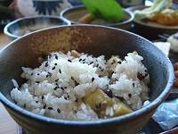 栗ご飯の画像