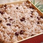 炊飯器で失敗しない赤飯の炊き方!もち米なしでも水加減で簡単に!