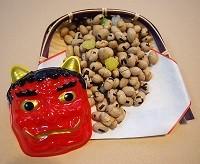 節分の豆の画像