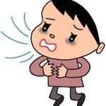 息苦しい原因は肩こり?咳が出て息が深く吸えないのは病気かも?
