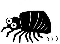 害虫のイラスト
